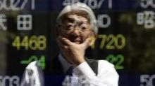 Asian Stocks Advance; SoftBank's Domestic Telecoms Unit to List in December