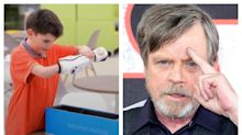 Luke Skywalker congratulates Star Wars super fan on BB-8 bionic arm