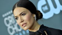 Mandy Moore reveals she 'lost a bunch of weight' due to pregnancy sickness