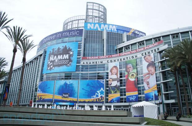 We're live from NAMM 2013 in Anaheim, California!