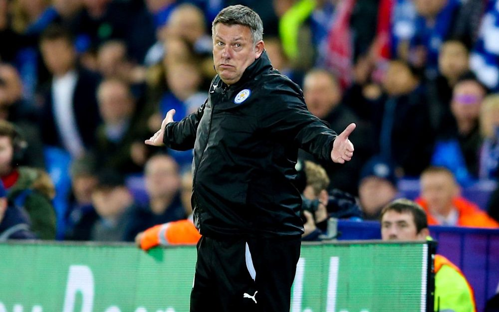 Craig Shakespeare is battling to keep Leicester in the Premier League - Copyright (c) 2017 Rex Features. No use without permission.