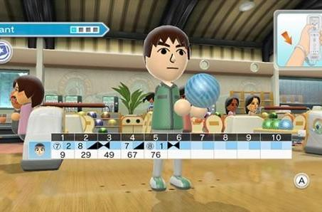 PSA: Trial bowling and tennis at the Wii Sports Club, starting today