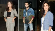 Pics: Vicky Kaushal, Katrina Kaif, Bhumi Attend 'Bhoot' Screening