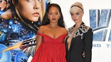 Cara Delevingne 'shaking like a leaf' as she stuns at Valerian premiere with Rihanna and Dane DeHaan