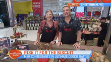 MKR's Lyn and Sal get their cookies into Coles