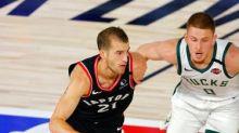 Raptors beat Bucks 114-106; key players for both teams sit