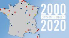 Foot - D1/L1 - D1 2000-L1 2020:les 40 clubs qui ont fait l'élite du football français ces deux dernières décennies