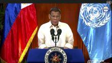 In UN speech, Duterte defends drug war but tempers tone