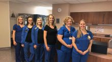 These 6 nurses from the same department are pregnant at the same time