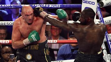 Fury sends 'love and respect' to Wilder