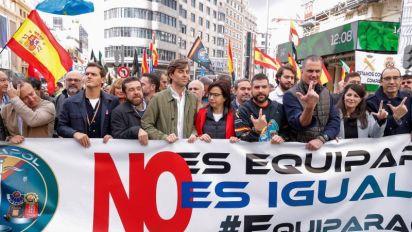 """Vox pide que """"de una vez por todas"""" la Policía actúe """"como sabe"""" en Cataluña"""