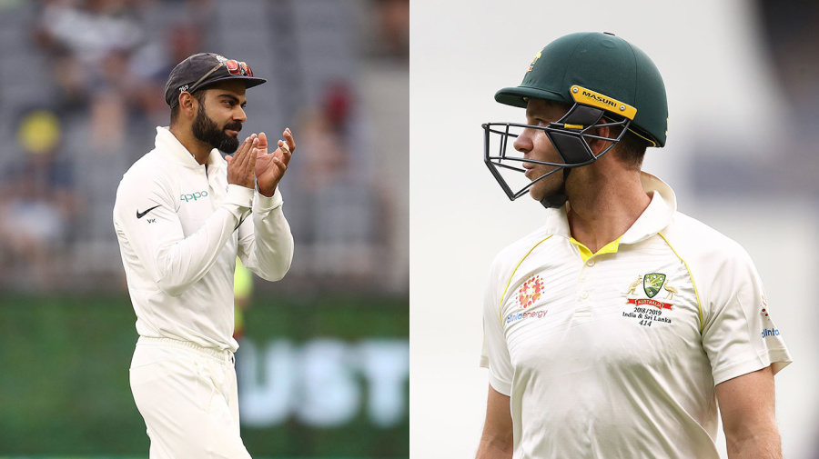 Confident Aussies brush off Kohli's 'white noise'