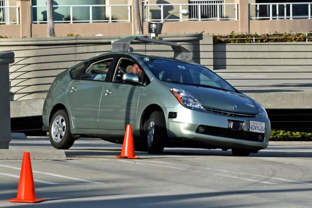 Das mit dem autonomen Google Car wird wohl nichts