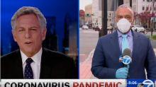 """""""Ich fühle mich fürchterlich"""": Nachrichtensprecher entschuldigt sich wegen Corona-Patzer in Livesendung"""
