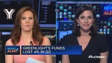 Greenlight's funds lost 4% in second quarter