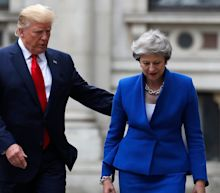 Theresa May thinks Donald Trump's comments about congresswomen are 'completely unacceptable'