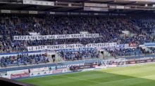 Foot - L1 - Le message hostile des ultras de Strasbourg à Mediapro