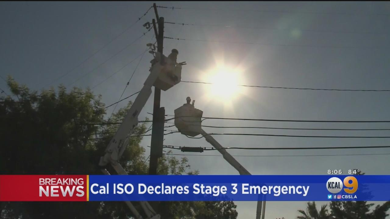 Cal Iso Issues Stage 3 Emergency Notice Rolling Blackouts Underway Video