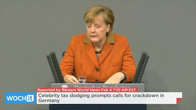 Celebrity Tax Dodging Prompts Calls For Crackdown In Germany