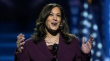 Kamala Harris hits out at Donald Trump's 'failed leadership' as she officially accepts vice president nomination