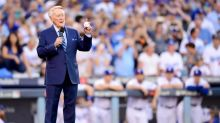 Vin Scully watches impatiently as Dodgers inch toward elusive World Series title