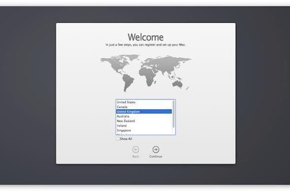 How to make OS X Mavericks re-run the Setup Assistant