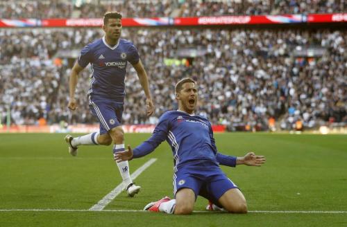 Hazard envoie Chelsea en finale