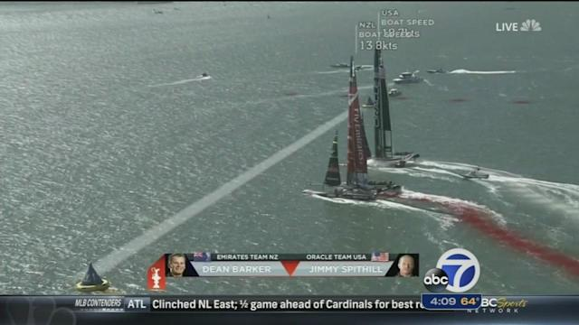 Stage set for winner-take-all America's Cup finale