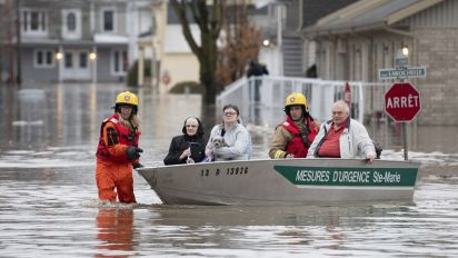 Quebec flooding leaves one dead, forces evacuations