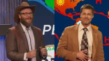 Seth Rogen stole Brad Pitt's job as weatherman on 'The Jim Jefferies Show'