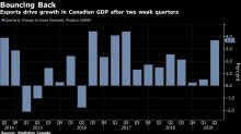 Consumer Worries Cloud Best Canadian Output Gain in Two Years