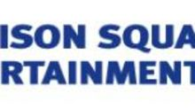 Madison Square Garden Entertainment Corp. Reports Fiscal 2021 Second Quarter Results