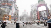 【有片】東京大雪警報 澀谷/新宿/池袋白色一片