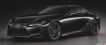 黑色旋風來襲 LEXUS 旗艦GT跑車 LC Limited Edition勁帥登場