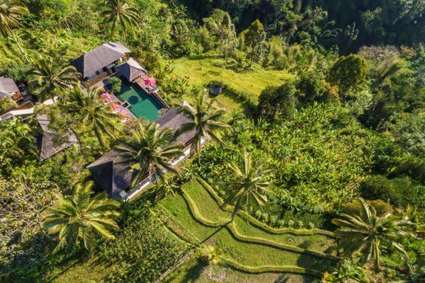 Awan Biru Resort & Spa Opened Amidst Ubud Iconic Landscape of Rice Terrace and Forest