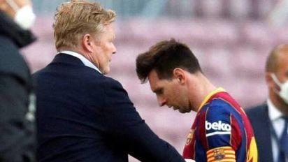 Weltfußballer? Was Koeman über Messi sagt