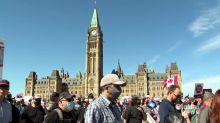 Pro-gun activists march in Ottawa