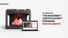MakerBot Launches the MakerBot Certification Program for Students