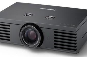 Panasonic's first 1080p LCD projector, the PT-AE1000
