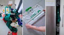 Woolies bag hack sparks fierce debate on TikTok: 'Who does that?'