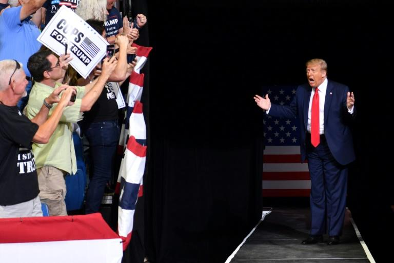 Trump to hold outdoor campaign rally in New Hampshire
