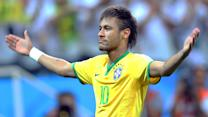 Neymar comes through for host country Brazil