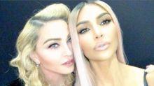 Madonna fans are upset that she's bonding with Kim Kardashian: 'I'm actually feeling sick'