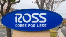 Ross Stores Shares Slump as Costs Rise