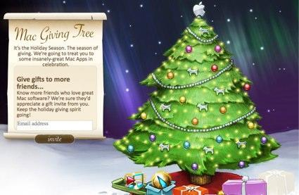 Mac Giving Tree rewards you with free applications