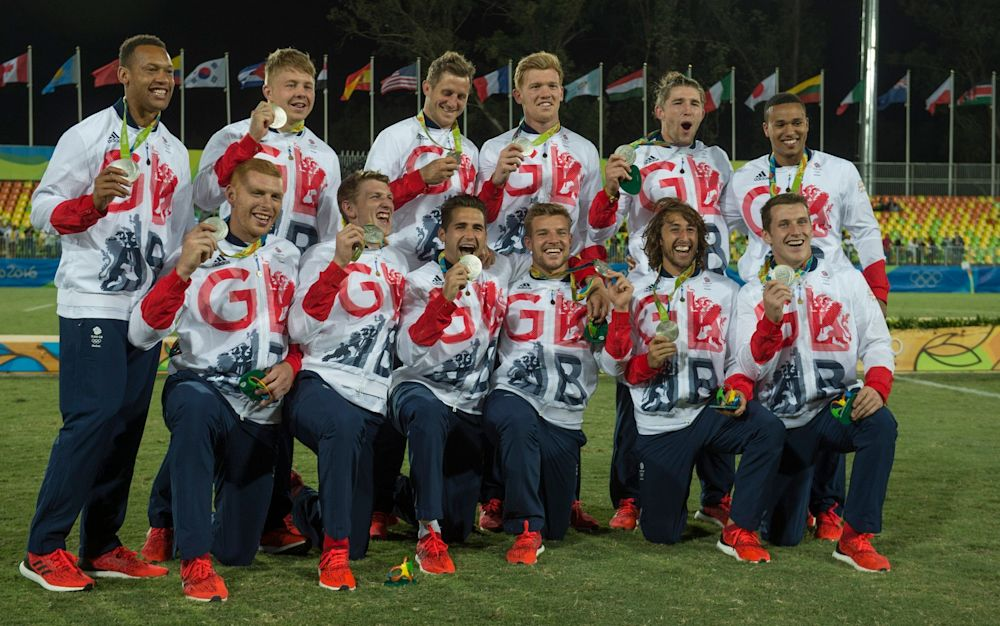 The Great Britain team won silver at the 2016 Olympics - JULIAN SIMMONDS