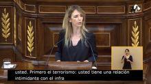 """Cayetana Álvarez de Toledo, a Pablo Iglesias: """"Usted es el hijo de un terrorista"""""""
