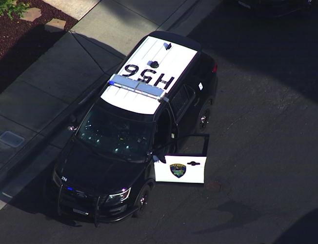 Hayward police searching for suspects following officer-involved shooting