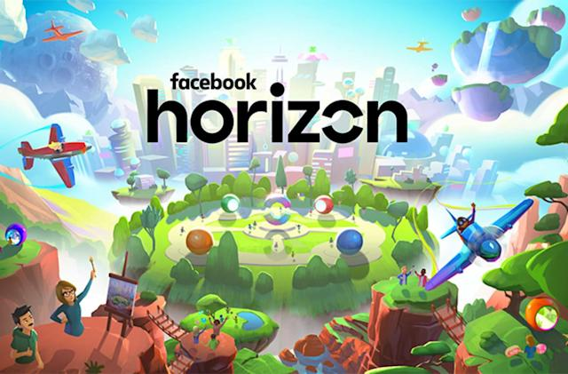 Social VR world 'Facebook Horizon' comes to Oculus in 2020