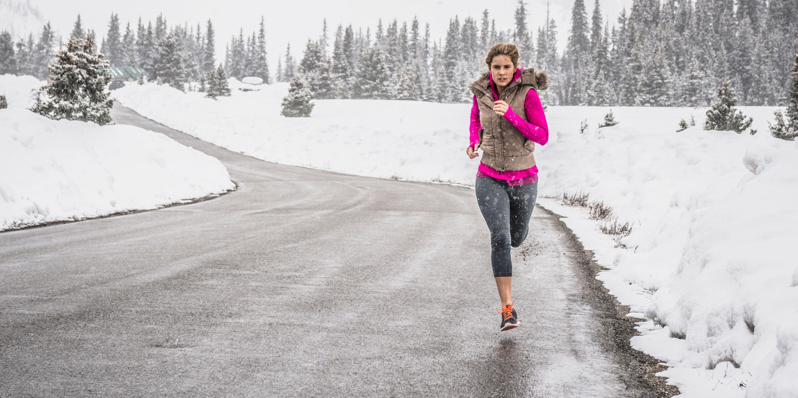 """<p>When cold weather hits, it's tempting to hit the gym for every workout. But <a href=""""http://www.reggiechambersfitness.com/"""" rel=""""nofollow noopener"""" target=""""_blank"""" data-ylk=""""slk:Reggie Chambers"""" class=""""link rapid-noclick-resp"""">Reggie Chambers</a>, a certified personal trainer at <a href=""""http://www.nypersonaltraining.com/"""" rel=""""nofollow noopener"""" target=""""_blank"""" data-ylk=""""slk:New York Personal Training"""" class=""""link rapid-noclick-resp"""">New York Personal Training</a>, says it's best to bust it out in nature as much as you can. """"Taking advantage of cold days to workout outside will help you torch more calories since your body has to work harder to keep you warm,"""" he explains. Sure, there are a lot of variables to determine <i>how many </i>calories you'll actually burn (things like your age, sex, and weight all play a role), but doing the same exact workout outside versus inside could net you a better burn.</p>"""